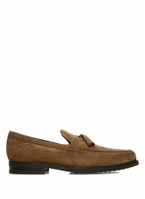 Tod's Deri Loafer Ayakkabı Taba